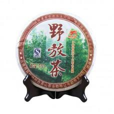 2008, Дикорос из дер. Баканань, 357 г/блин, шу, ч/ф Лунъюань Хао