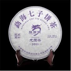 2018, Прямоствол, 380 г/блин, шу, ч/ф Лунъюань Хао