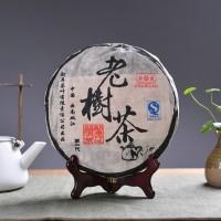 2006, Чай со Старого дерева, 400 г/блин, шу, ч/ф Мэнку Жунши
