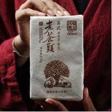 2018, Лао Чатоу, 250 г/кирпич, шу, ч/ф Фуюань Чан