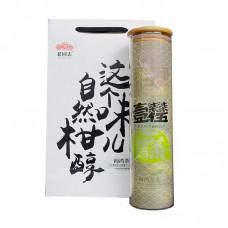 2017, Пуэр в лайме, стекло, 160 г/банка, шу, ч/ф Хайвань