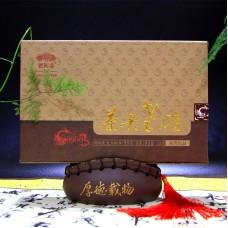 2014, Лао Чатоу 9908, 500 г/кирпич, шу, ч/ф Хайвань