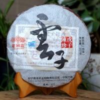2012, Чайная реликвия, 357 г/блин, шу, ч/ф Хайвань