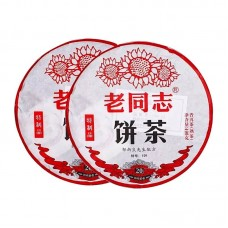 2019, Тэчжи пинь, 400 г/блин, шу, ч/ф Хайвань