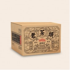 2020, Лао Чатоу, 250 г/шт, шу, ч/ф Хайвань