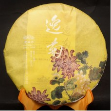 2015, Молодая хризантема, 400 г/блин, шу, ч/ф Хайвань