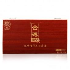 2016, 1288 Золотой слиток, 600 г/коробка, шу, ч/ф Цзюньчжун Хао