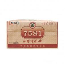 2017, 7581, 1 кг/упаковка, шу, ч/ф Чжунча
