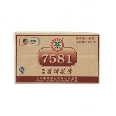 2011, 7581, 1 кг/упаковка, шу, ч/ф Чжунча