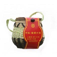 "2017, 6166, чай ""любао"", класс I, 250 г/шт, чёрный чай, ч/ф Чжунча"