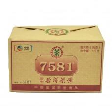 2014, 7581, 1 кг/упаковка, шу, ч/ф Чжунча