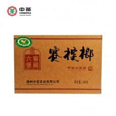 "2014, Бетель, чай ""любао"", класс III, 400 г/кирпич, чёрный чай, ч/ф Чжунча"