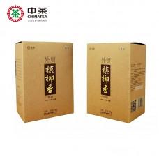 "2018, 7361, чай ""любао"", класс III, 500 г/коробка, чёрный чай, ч/ф Чжунча"