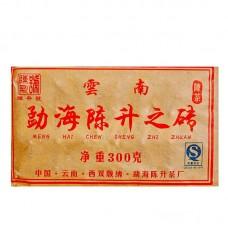 2007, На вес золота, 300 г/кирпич, шу, ч/ф Чэньшэн Хао