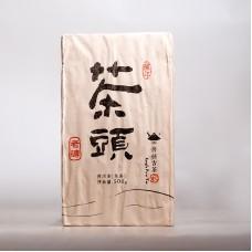 2015, Лао Чатоу, 0,5 кг/кирпич, шу, ч/ф Шуцзянь Хао