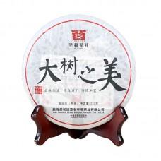 2014, Очарование чайного леса, 250 г/блин, шу, ч/ф Шэнхэ