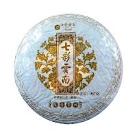 2018, Знакомый аромат, 357 г/блин, шу, ч/ф Юньнань Колорфул