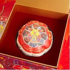 2019, Подарок Золотой Свиньи, большие деревья Синь Баньчжана, 666 г/коробка, шу, ч/ф Юньюаньгу