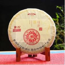 2019, Биндао, древние деревья Сибаньшаня, 357 г/блин, шэн, ч/ф Бинчжун Дао