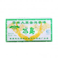 2016, Крупный лист Биндао, 500 г/кирпич, шэн, ч/ф Бинчжун Дао