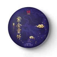 2019, Бархатное золото, 300 г/блин, шэн, ч/ф Даи