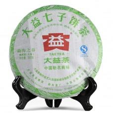 2012, Мэнхайская Весна, 357 г/блин, шэн, ч/ф Даи