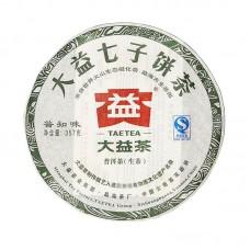 2011, Познающий Вкус Чая, 357 г/блин, шэн, ч/ф Даи