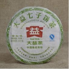 2012, Познающий Вкус Чая, 357 г/блин, шэн, ч/ф Даи
