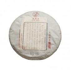 2017, Высокогорный источник, 357 г/блин, шэн, ч/ф Дэфэн Чан