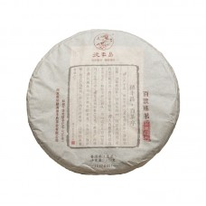 2017, Чай народности Байпу, 357 г/блин, шэн, ч/ф Дэфэн Чан