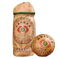 2019, Тэто, чай Феникса, (5*100 г), 500 г/точа, шэн, ч/ф Дэфэн