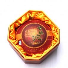 2016, Золотая лента, 200 г/коробка, шэн, ч/ф Дэфэн