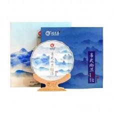 2018, Иушаньская орхидея, 150 г/блин, шэн, ч/ф Жуньюань Чан