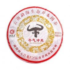 2021, Энергия Быка, 360 г/блин, шэн, ч/ф Жуньюань Чан