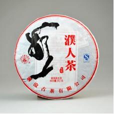 2013, Чай народности Байпу, 357 г/блин, шэн, ч/ф Ланьцан