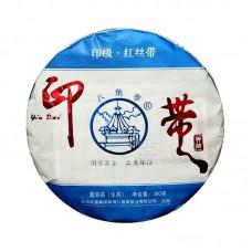 2020, Красная шёлковая лента, 380 г/блин, шэн, ч/ф Лимин