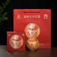2021, Мэнхайский павлин, 250 г/точа, шэн, ч/ф Лимин