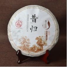 2016, Сигуйский органик, 357 г/блин, шэн, ч/ф Лимин