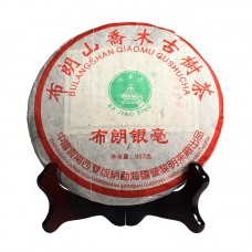 2006, Буланшаньский пух, 357 г/блин, шэн, ч/ф Лимин