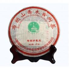 2006, Буланшаньский Прямоствол (коллекционник), 357 г/блин, шэн, ч/ф Лимин