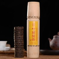 2005, Бамбуковое коленце, 150 г/шт, шэн, ч/ф Лимин