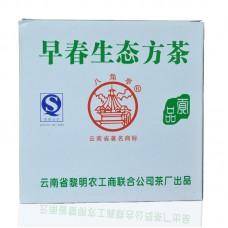 2007, Весенний органик, 100 г/коробка, шэн, ч/ф Лимин