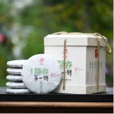 2021, Открывающий весну, 1,2 кг/комплект, шэн, ч/ф Лунъюань Хао