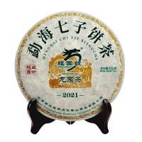 2021, Сад Дракона, 380 г/блин, шэн, ч/ф Лунъюань Хао