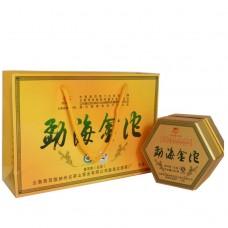 2014, Золотые точи Мэнхая, 300 г/коробка, шэн, ч/ф Лунъюань Хао