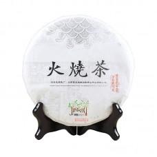 2017, Огненный чай, 357 г/блин, шэн, ч/ф Лунъюань Хао