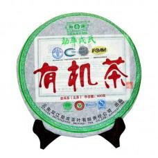 2008, Органик, 400 г/блин, шэн, ч/ф Мэнку Жунши