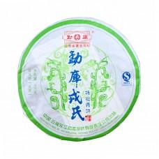 2007, Тэцзи, особый аромат, 400 г/блин, шэн, ч/ф Мэнку Жунши