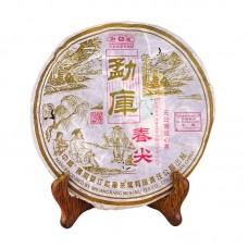 2007, Весенние всходы, 400 г/блин, шэн, ч/ф Мэнку Жунши