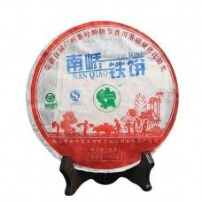 2007, Буланшаньский прямоствол, 357 г/блин, шэн, ч/ф Наньцяо